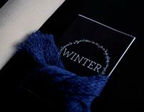 Winter Dinner Menu (Zine)