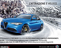 Alfa Romeo changes a pictorial statement
