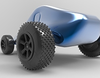 3D Wheel and car model