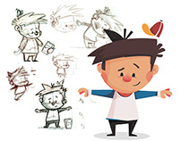 Children's Book Character Design Process