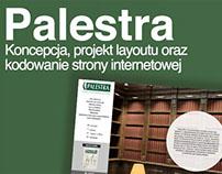 Serwis internetowy // Palestra