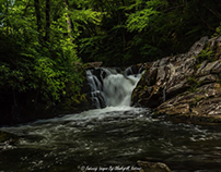 The Falls of Old River Road in Nantahala