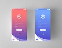 Login UI Design Idea
