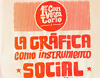 """Afiche """"La Gráfica como Instrumento Social y Político"""""""