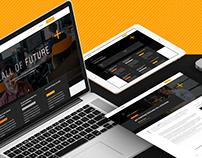 Call of future - Blog & Website Design