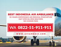 WA 0822-51-911-911 - Carter Pesawat Untuk Orang Sakit