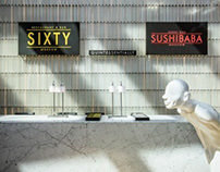 SIXTY | SUSHIBABA in Moscow