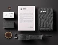 Adawy Group Logo -Branding identity