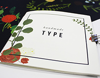 Hand Painted Typeface Booklet