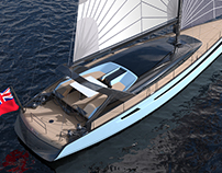Ales 62ft. Sail Yacht Design Project