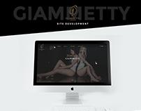 Website design development for Giammetty
