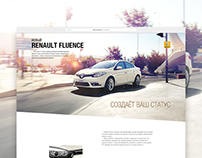 Promo page for Renault