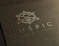 Auspic restaurant & lounge corporate identity