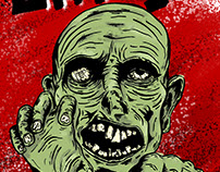 Grr! Argh! Zombie Poster