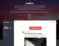 Cambuzz Website Design