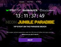 Phuket Party Landing Page