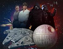Photo Manipulation - Star Wars Day