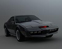 Knight Rider KITT 2000 3D model