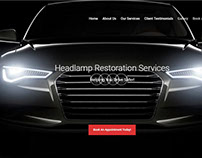 Hakika Autospa Website UI/UX DESIGN and Interaction