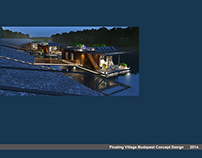Floating Village Budapest Concept Design