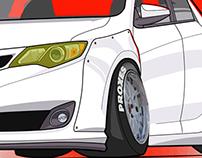 Stanced Toyota
