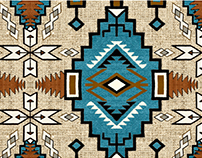 Estampa Navajo - TIGRARA Primavera 2017