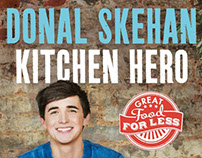 Art Direction & Design for Donal Skehan book cover