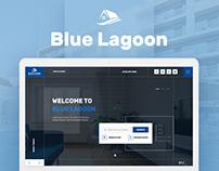 Blue Lagoon — Real Estate Website Theme UX/UI