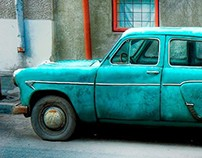 Retoque digital - Old Car