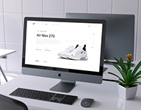 Nike Air Max 270 Interface