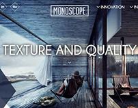 Monosope LLC - Creative web design concept