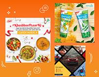 Social Media Posts for Various Brands