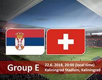 Soi kèo Serbia vs Switzerland