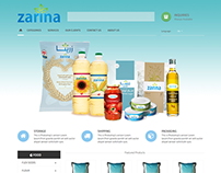 Zarina Website Design