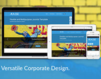 Alasse Joomla Template for Corporate Design
