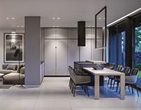Дизайн интерьера модульного дома 150 кв.м