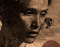 Gemma IV. Digital drawing of Gemma Arterton.