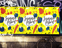 Summer festival poster