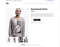 Shop Item Page - Rare Ultimate WordPress Theme