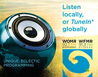 WOMR Radio - Community Radio Ads