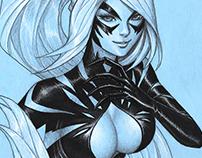 Black Cat - Symbiote Suit