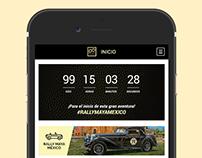 Rally Maya, Mobile App