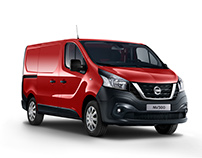 Nissan NV300 Studio Shoot