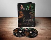 Identidade visual - Arte para capa DVD - Show Makegueto