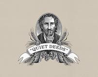 Quiet Deeds - Beer Packaging