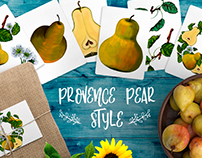 Provense Pear Style