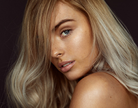 Model Portfolio Belle Reid @ LENI's