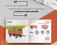Caselli Katalog Tasarımı-Caselli Catalogue Design