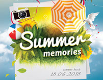 Summer Memories Flyer Template