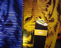 """Escaparate Asics """"Wild & Rare"""" en Sneakers&co"""